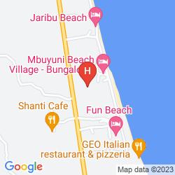 Karte CORAL ROCK BEACH BUNGALOWS & HOTEL