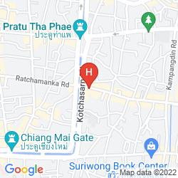 Karte CENTER PLACE GUESTHOUSE
