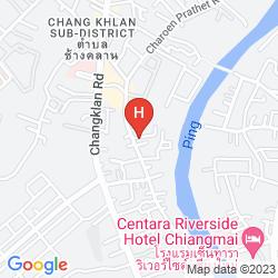 Karte CHIANG MAI AL-FAROOQ