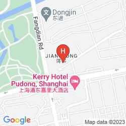 Karte KERRY HOTEL PUDONG, SHANGHAI