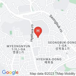 Karte EUGENE HANOK HOUSE DONGDAEMUN