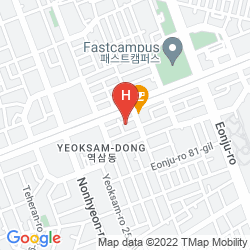 Karte IMI HOTEL