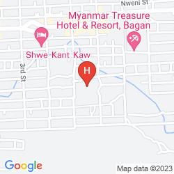 Karte THAZIN GARDEN