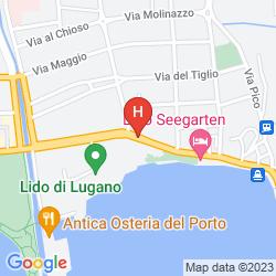 Karte CASSARATE LAGO