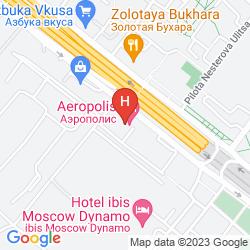 Karte AEROPOLIS HOTEL