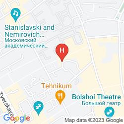 Karte AKVAREL HOTEL