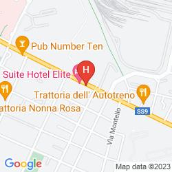 Karte GRAND HOTEL ELITE