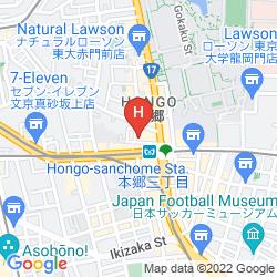 Karte HOTEL KIZANKAN