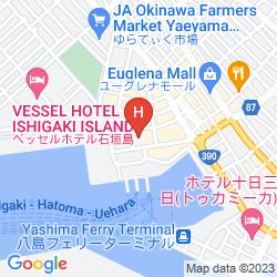 Karte HOTEL MIYAHIRA