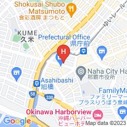 Karte COMFORT HOTEL NAHA KENCHO-MAE