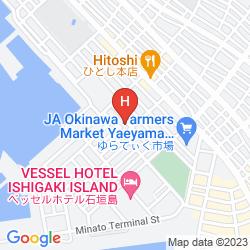 Karte HOTEL ROUTE INN GRANTIA ISHIGAKI