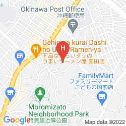 Karte KUMEJIMA EEF BEACH HOTEL