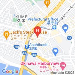 Karte OKINAWA KARIYUSHI RYUKYU HOTEL NAHA