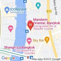 Karte MANDARIN ORIENTAL BANGKOK