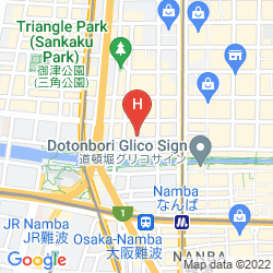 Karte NEW OSAKA HOTEL SHINSAIBASHI