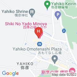 Karte SHIKI NO YADO MINOYA