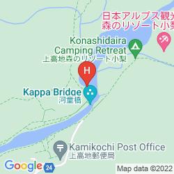 Karte HOTEL SHIRAKABA-SO