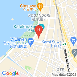 Karte SUWAKO HOTEL