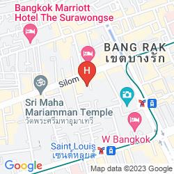 Karte FURAMA SILOM, BANGKOK