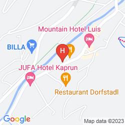 Karte PENSION JAGA HIAS