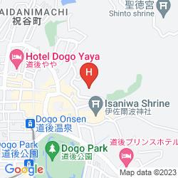 Karte HOTEL CHAHARU