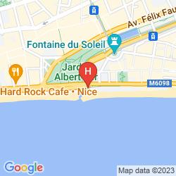Karte AC HOTEL NICE