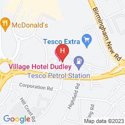 Karte DE VERE VILLAGE BIRMINGHAM DUDLEY - HOTEL & LEISURE CLUB