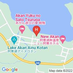 Karte HOTEL GOZENSUI