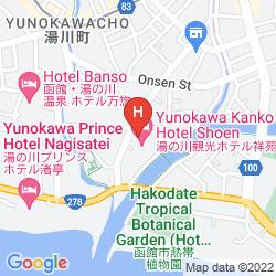 Karte YUNOKAWA KANKO HOTEL