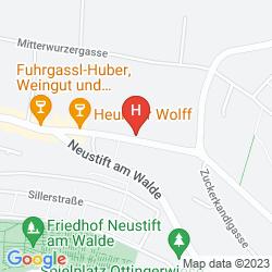 Karte LANDHAUS FUHRGASSL HUBER