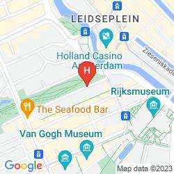 Karte VONDELPARKMUSEUM B&B