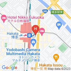 Karte CLIO COURT HAKATA
