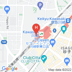 Karte HOTEL METS KAWASAKI
