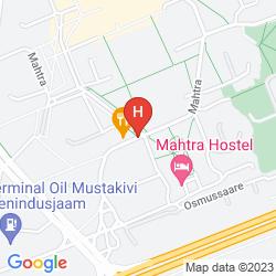 Karte MAHTRA HOSTEL