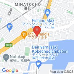 Karte KOSENKAKU
