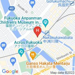 Karte IP CITY HOTEL FUKUOKA