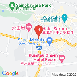 Karte HOTEL SAKURAI