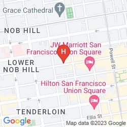 Karte WYNDHAM CANTERBURY AT SAN FRANCISCO