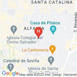 Karte CASA NUMERO 7