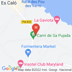 Karte ENTREPINOS HOSTAL