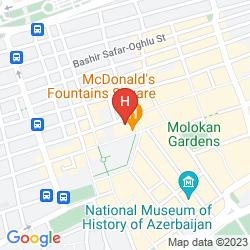 Karte RADISSON BLU PLAZA HOTEL