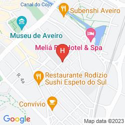 Karte HOTEL AFONSO V