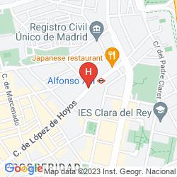 Karte ILUNION SUITES MADRID