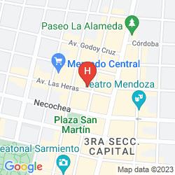 Karte ROYAL HOTEL HORCONES
