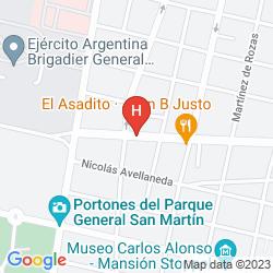 Karte SOLTIGUA APART HOTEL