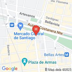 Karte HOSTAL BOUTIQUE CASA ALTURA