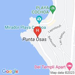 Karte NERUDA MAR SUITES
