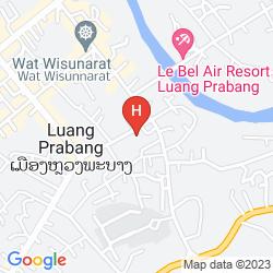 Karte ANCIENT LUANG PRABANG HOTEL BANPHONGHEUANG
