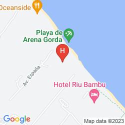 Karte BAHIA PRINCIPE LUXURY ESMERALDA