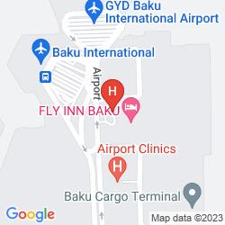 Karte SHERATON BAKU AIRPORT HOTEL
